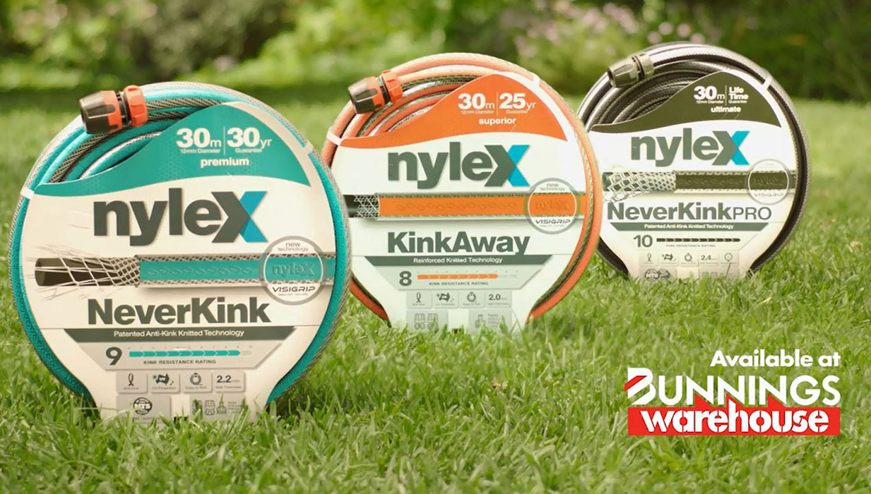 Nylex Garden Hoses TV Commercial