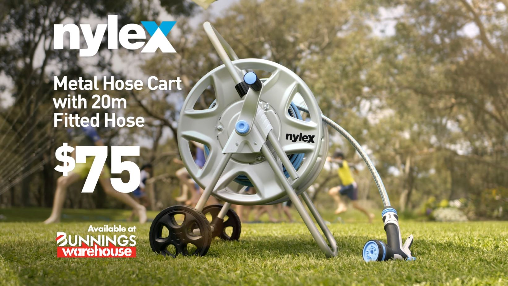 Nylex Metal Hose Cart TV Commercial